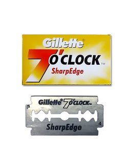 Gillette 7 O'clock Sharp Edge Double Edge Blades (5 st)