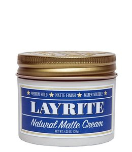 Layrite Natural Matte Cream Pomade - 120 gram