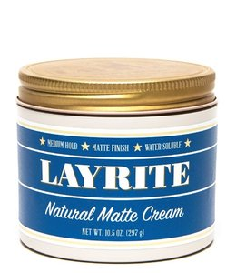Layrite Natural Matte Cream Pomade - 297 gram XL