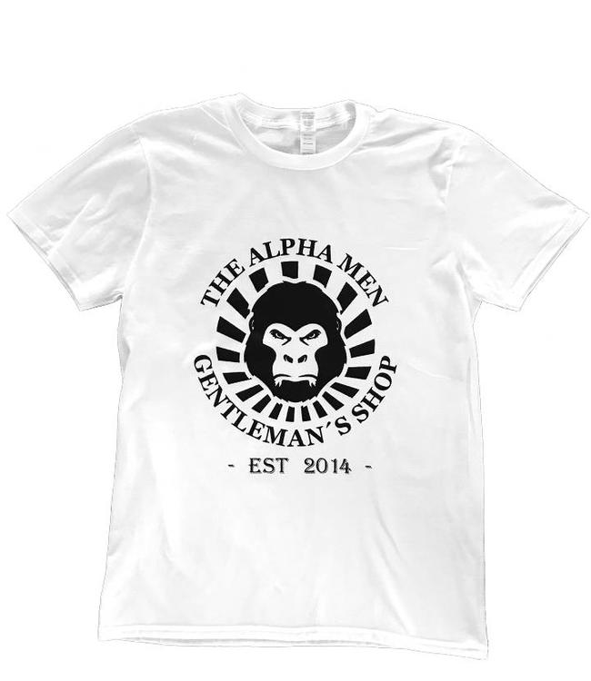 The Alpha Men OG White Tee