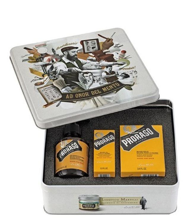 Proraso Beard Kit - Wood and Spice
