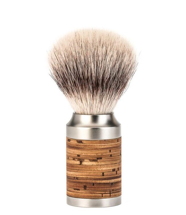 Muhle Scheerkwast - Rocca - Silvertip Fibre - M - Berken