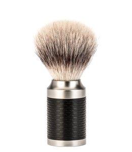 Muhle Scheerkwast - Rocca - Silvertip Fibre - M - Zwart