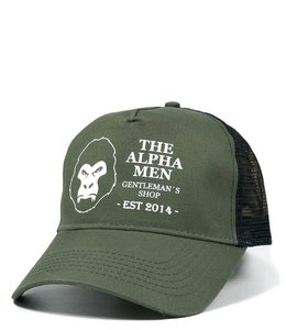 The Alpha Men Trucker Cap - Mean Green