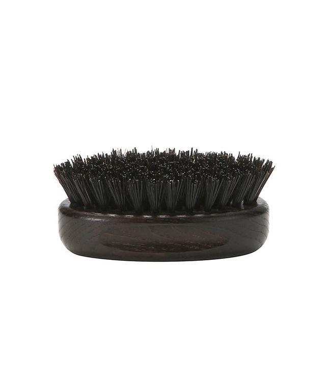 Solomon's Beard Brush Oval - Dark Wood