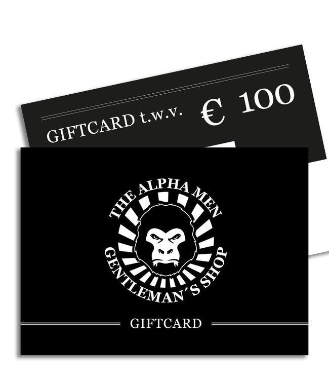 The Alpha Men Gift Card € 100