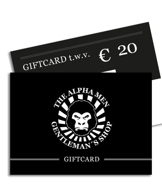 The Alpha Men Gift Card € 20