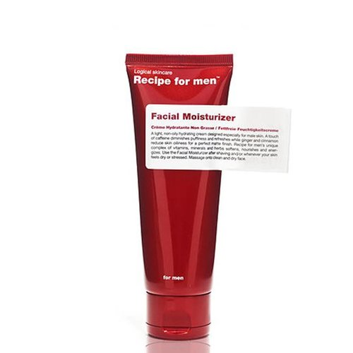 Recipe for Men Facial Moisturizer