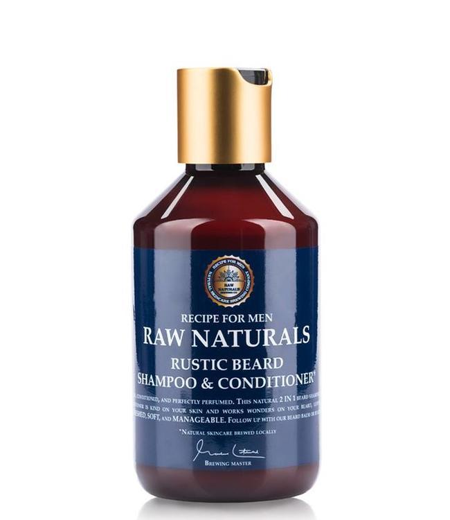 Recipe for Men RAW Naturals Rustic Beard Shampoo & Conditioner