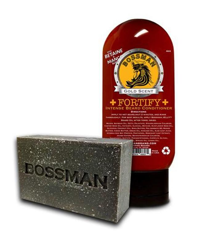 Bossman Cleansing Care Package - Gold