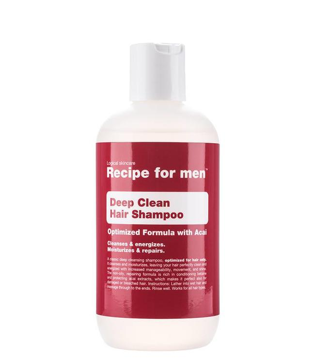 Recipe for Men Deep Cleansing Shampoo
