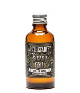 Apothecary87 Beard Oil Large - Vanilla & Mango