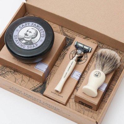 Scheerkwast, Razor & Shaving Soap Gift Set