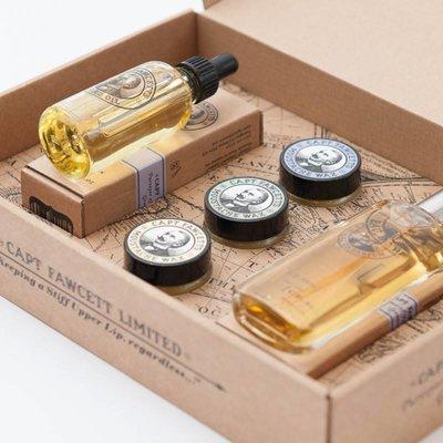 Eau De Parfum, Moustache Wax & Beard Oil Gift Set