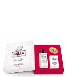 Cella Milano Moustache & Beard Gift Set