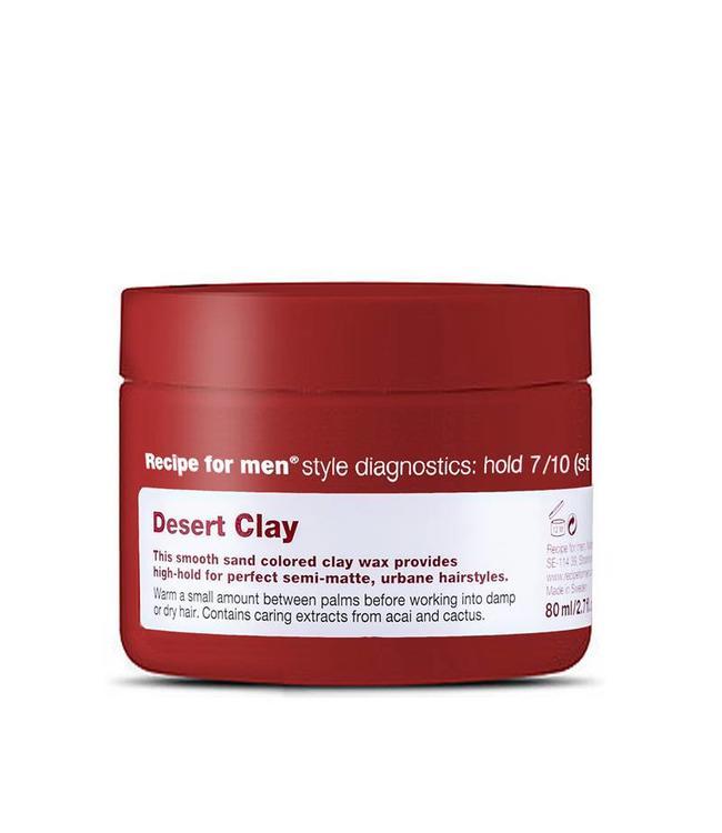 Recipe for Men Desert Clay