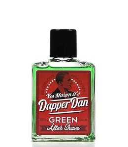 Dapper Dan DE After Shave Green