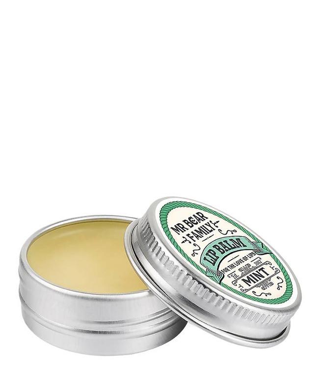 Mr. Bear Family Lip Balm - Mint