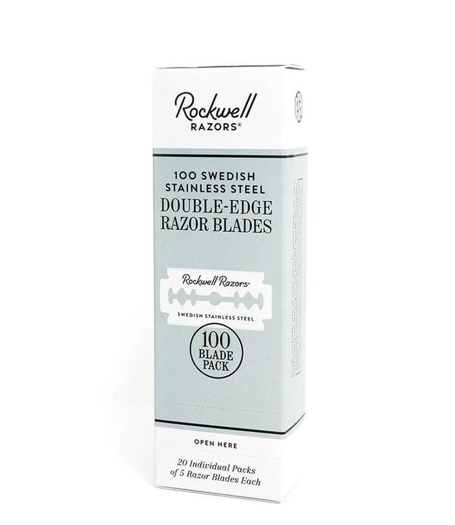 Rockwell Razors 100 Double-Edge Razor Blades