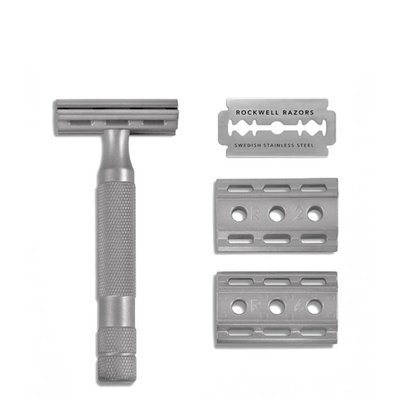 6S Safety Razor - Solid Stainless Steel
