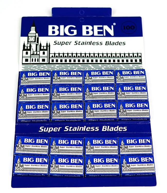 Big Ben Super Stainless Double Edge Blades (100 st)