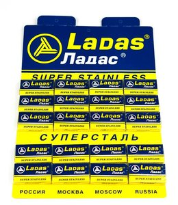 Ladas Super Stainless Double Edge Blades (100 st)