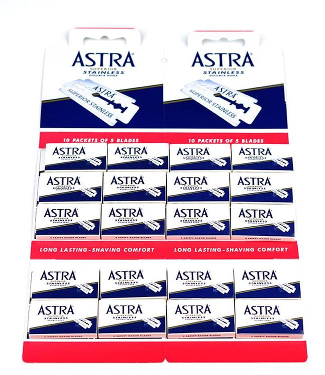 Astra Super Inox Double Edge Blades (100 st)
