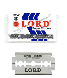 Lord Super Chrome Double Edge Blades (5 st)
