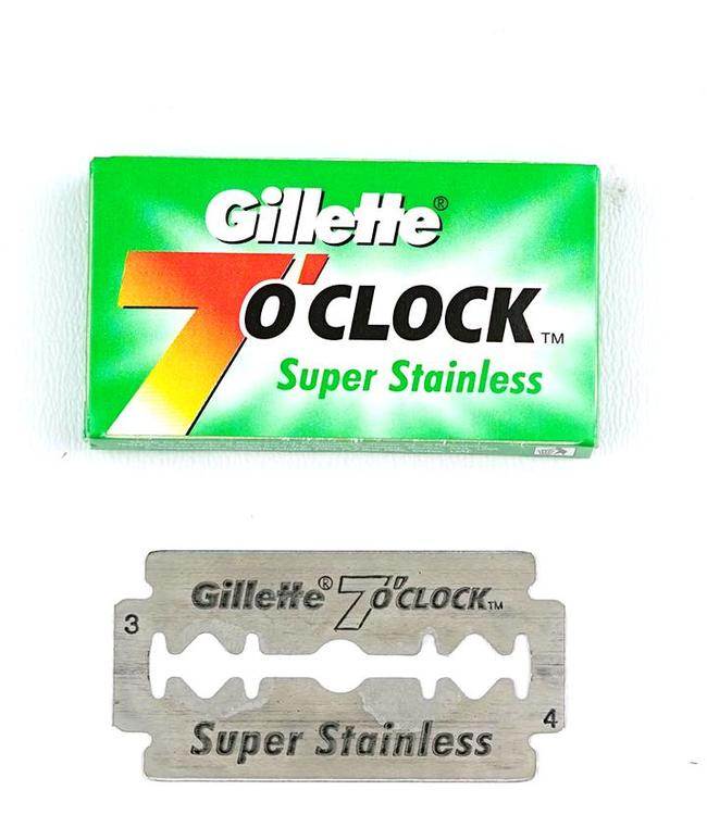Gillette 7 O'clock Super Stainless Double Edge Blades (5 st)