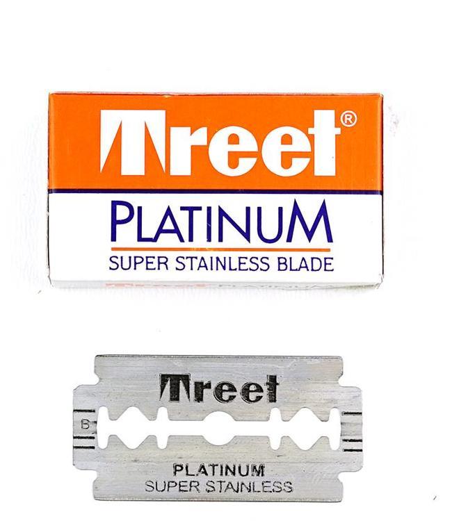 Treet Platinum Double Edge Blades (5 st)