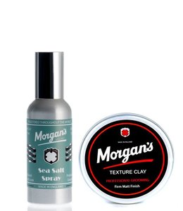 Morgan's Sea Salt Spray & Texture Clay
