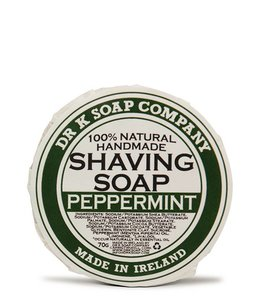 Dr K Soap Company Shaving Soap - Peppermint