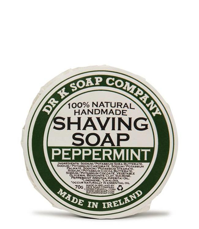 Dr K Soap Company Scheerzeep - Peppermint