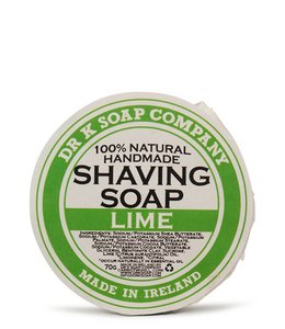 Dr K Soap Company Shaving Soap - Lime