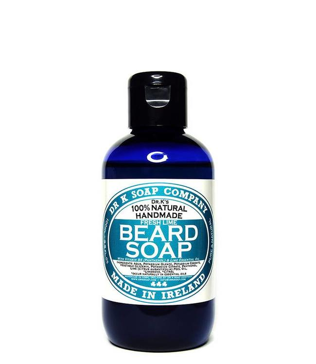 Dr K Soap Company Beard Soap Fresh Lime - 100 ml