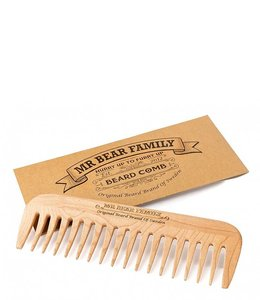 Mr. Bear Family Beard Comb
