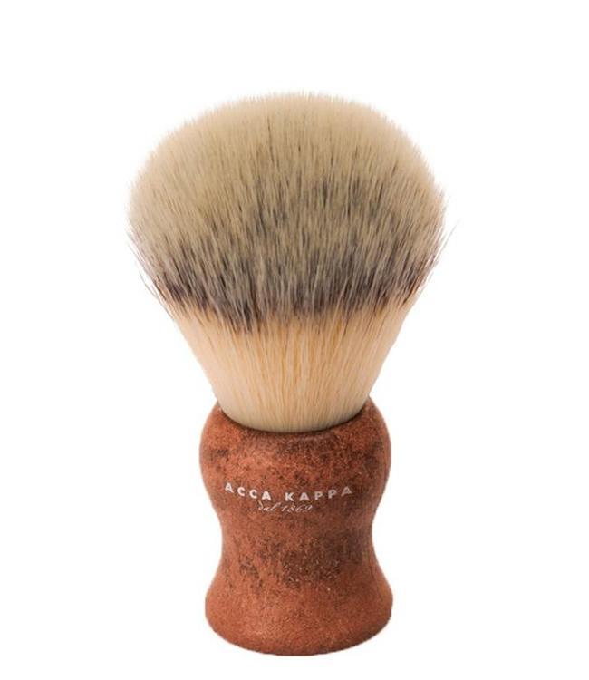 Acca Kappa Synthetic Shaving Brush - Brown