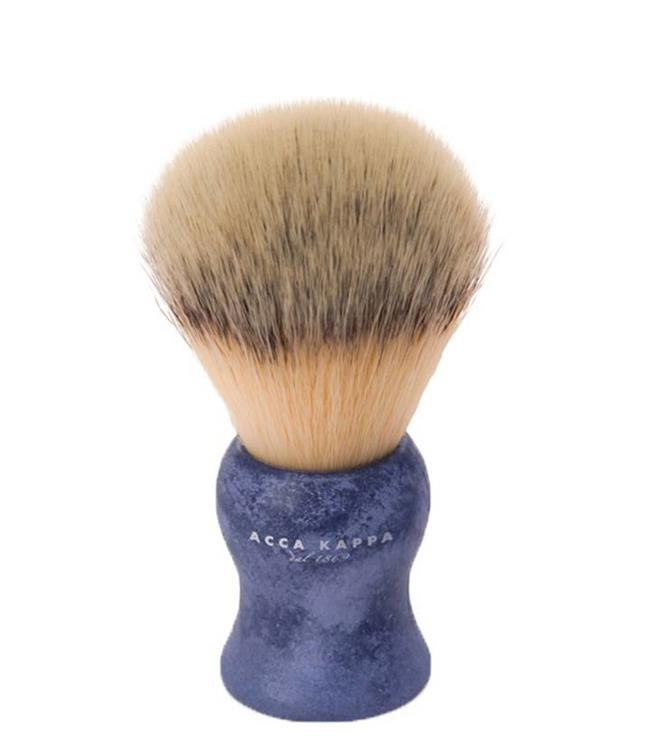 Acca Kappa Synthetic Shaving Brush - Blue