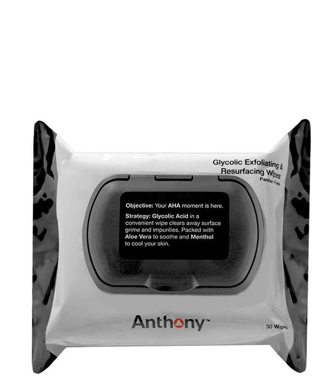 Anthony Glycolic Exfoliating & Resurfacing Wipes