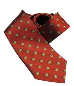 Fine Accoutrements Wet Shaver's Necktie Red