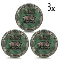 Reuzel Green Grease Medium Hold 3 Pack Bestellen Gratis