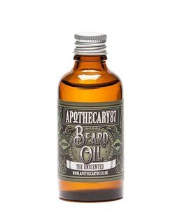Apothecary87 Baard Olie - The Unscented 50 ml