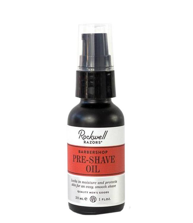 Rockwell Pre-Shave Oil - Barbershop Scent