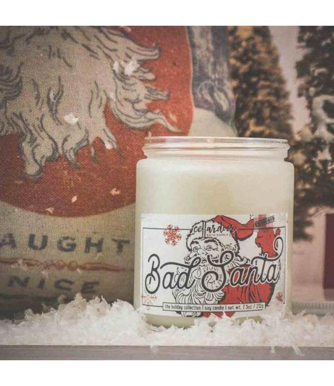 Cellar Door Bad Santa Soy Candle