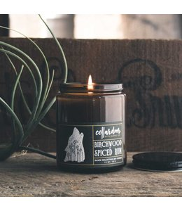 Cellar Door Birchwood + Spiced Rum Soy Candle
