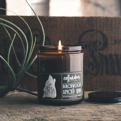Birchwood + Spiced Rum Soy Candle