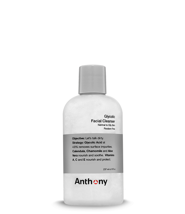 Anthony Glycolic Facial Cleanser - travelsize