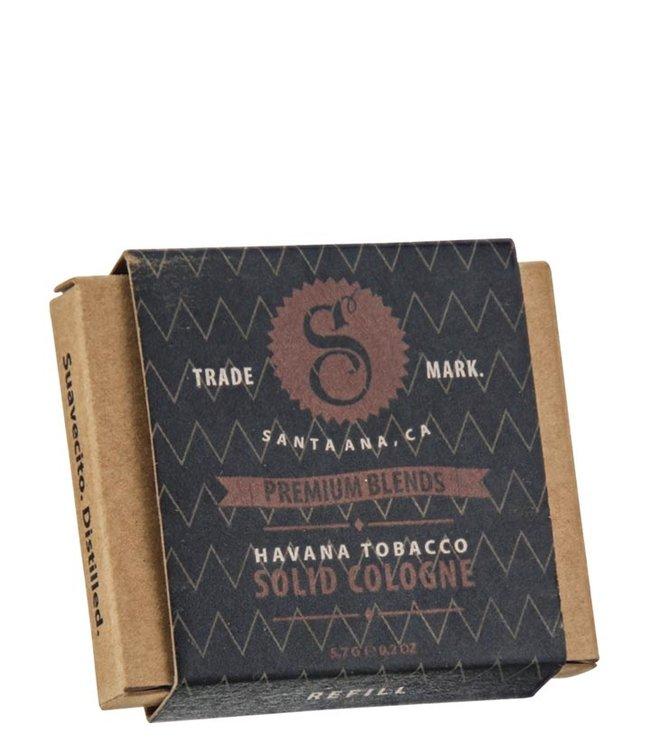 Suavecito Solid Cologne - Havana Tobacco (re-fill)
