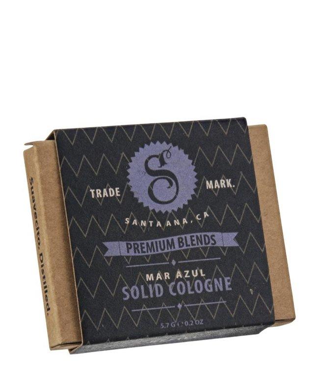 Suavecito Solid Cologne - Mar Azul (re-fill)