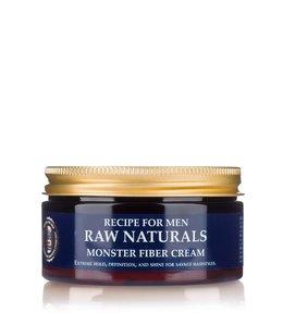 Recipe for Men RAW Naturals Monster Fiber Cream